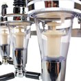 Bar Butler Getränkespender mit Wandhalterung für 3 oder 4 Flaschen