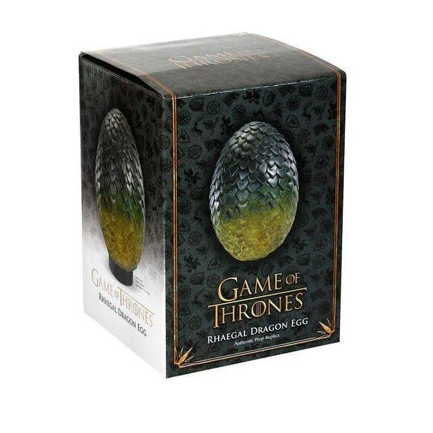 Game of Thrones Drachenei Replik Rhaegal