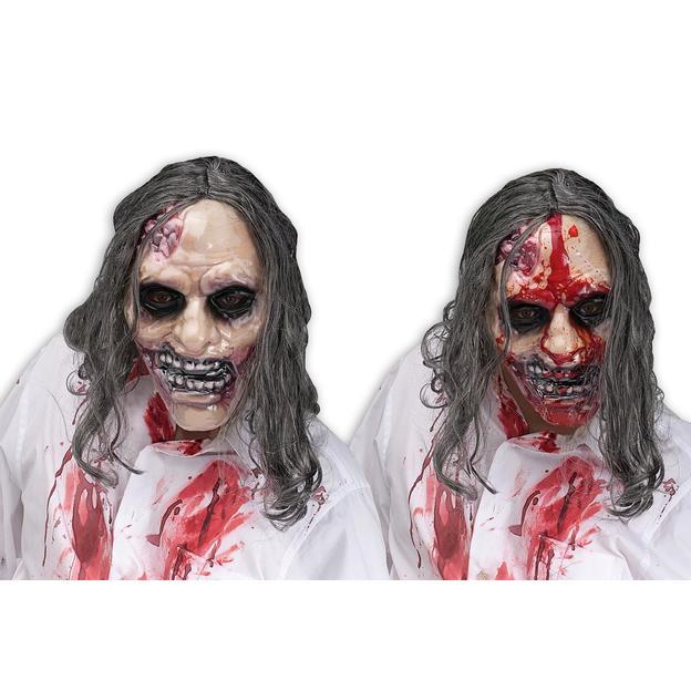 Masque de zombie sanglant