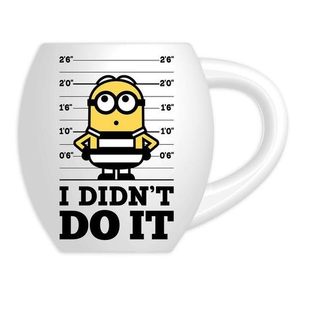 "Despicable Me 3 Minions Tasse ""I didn't do it"""