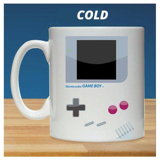 Tasse Nintendo Gameboy mit Farbwechsel