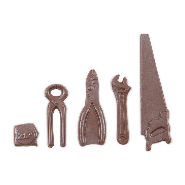 Werkzeug Set aus Schokolade gross