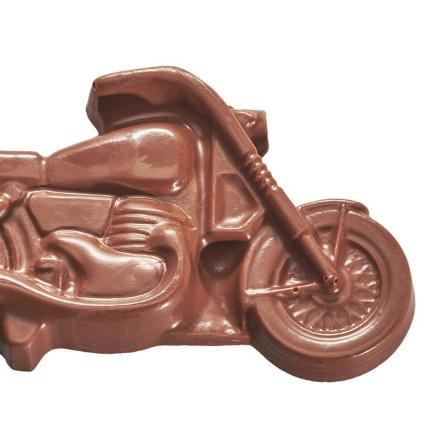 Motorrad Chopper aus Schokolade 200g