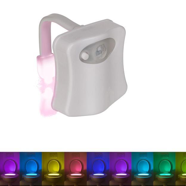Lampe LED multicolore pour la cuvette des toilettes