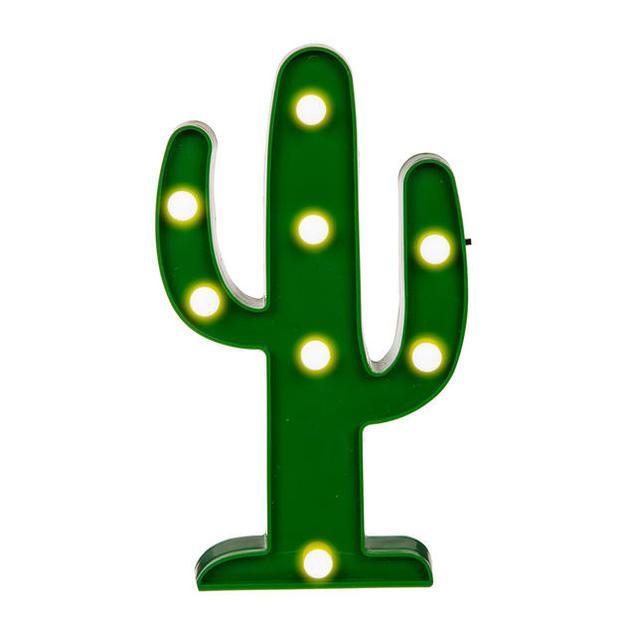 Kaktusleuchte mit LED-Funktion