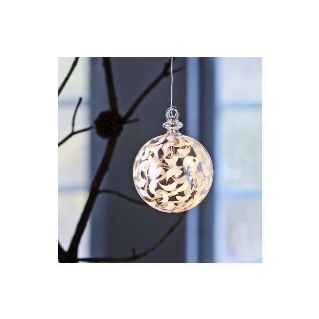 Sirius LED Weihnachtskugel Drops klein