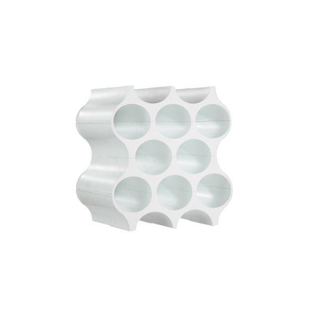 Casier à bouteilles SET-UP de Koziol blanc