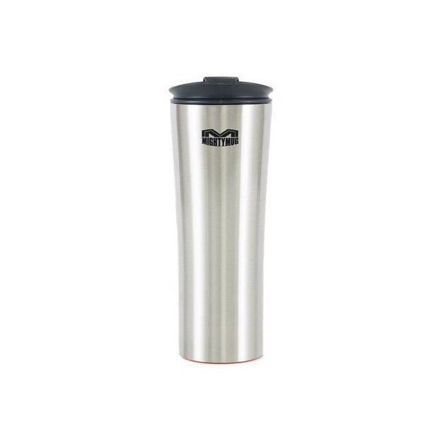 Torimex Thermobecher Mighty Mug Stahl GS silber, gross
