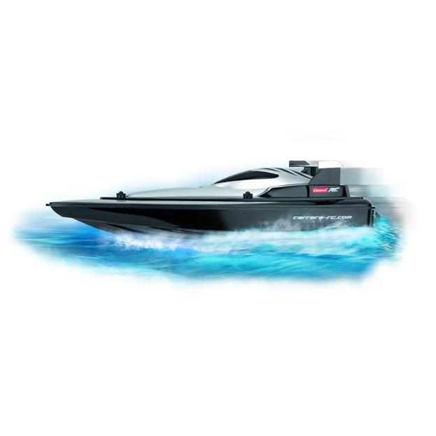 RC Race Speedboat Black bis zu 25 km/h