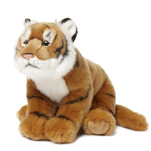 WWF Tiger Wildlife Floppy 23 cm