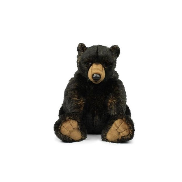 WWF Grizzly black sitzend 23 cm