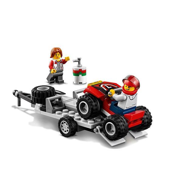 LEGO City Quad-Rennteam