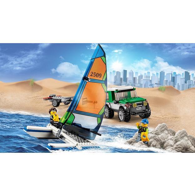 LEGO City Geländewagen mit Katamaran