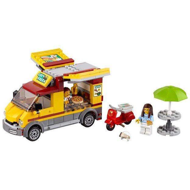 LEGO City Pizzawagen