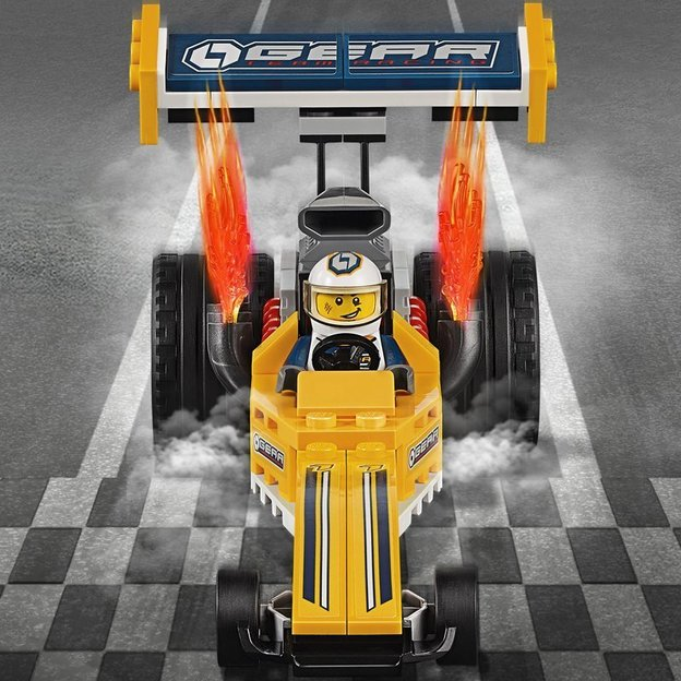 LEGO City Dragster-Transporter