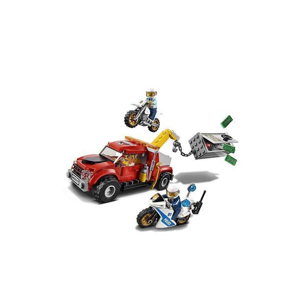 LEGO City Abschleppwagen auf Abwegen