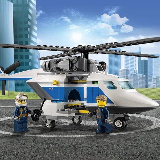 LEGO City La course-poursuite en hélicoptère
