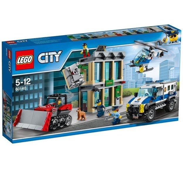 LEGO City Bankraub mit Planierraupe