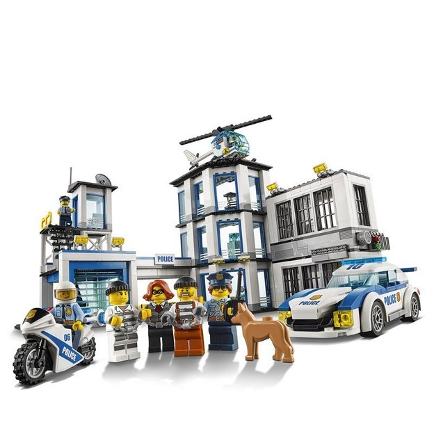 LEGO City Le commissariat de police