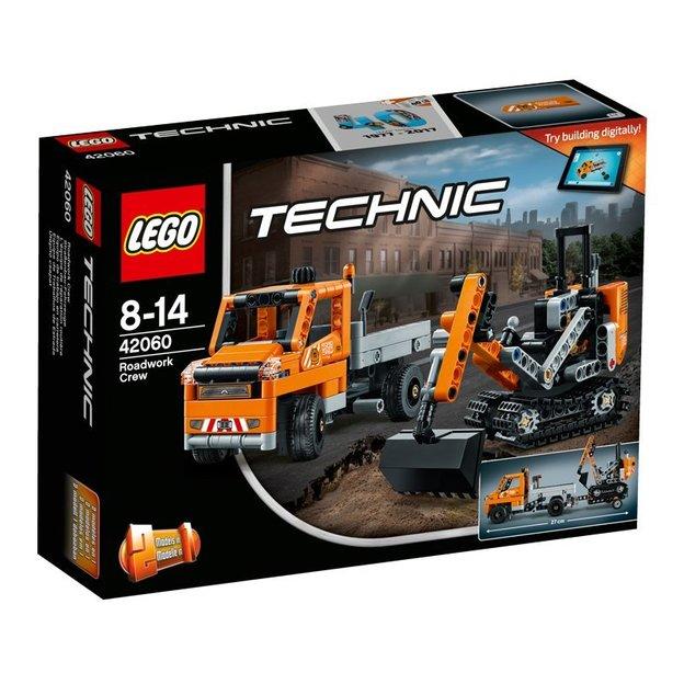 LEGO Technic Strassenbau-Fahrzeuge