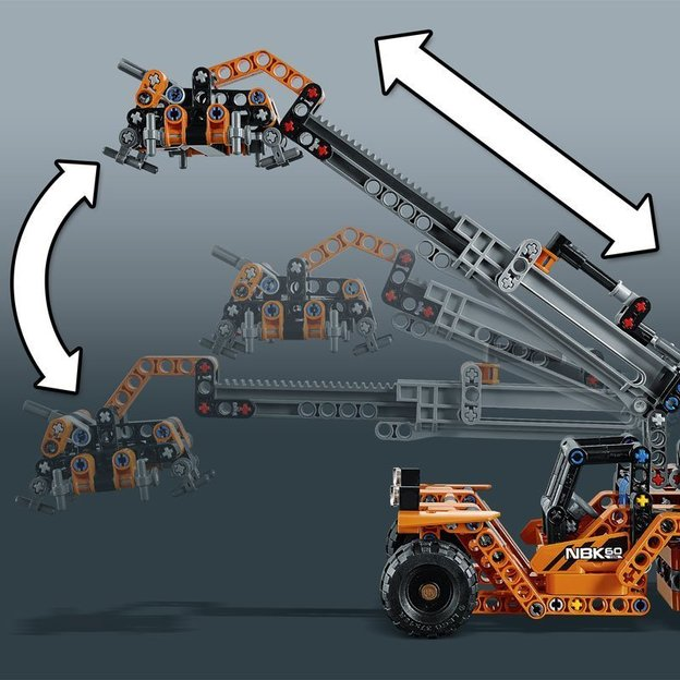 Lego Technic Transport Instructions