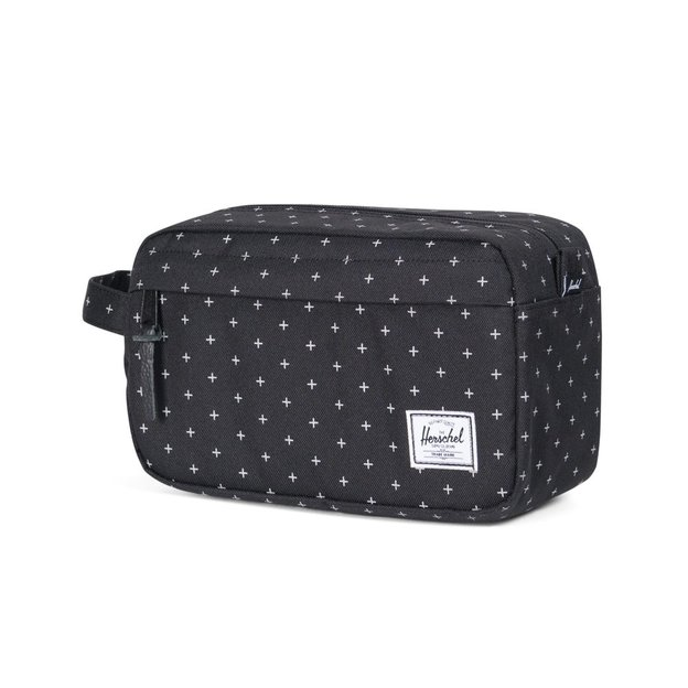 Herschel Travel Kit Chapter 5L. Black Gridlock