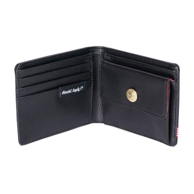 Herschel Portemonnaie Hank + Coin RFID Schwarz