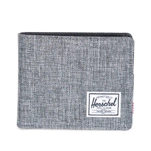 Herschel Portemonnaie Hank + Coin RFID Grau meliert