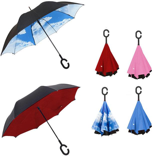 Umbrellastic - der umgedrehte Regenschirm