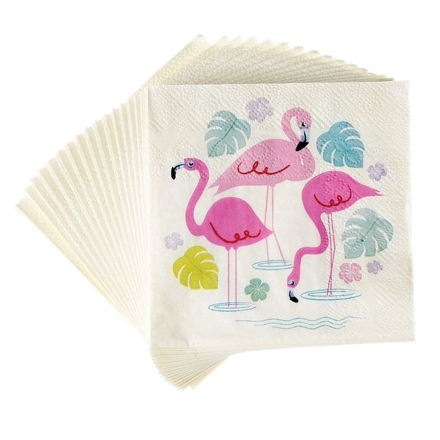 Party Servietten Flamingo