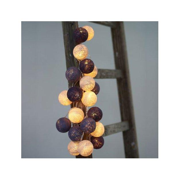 LED Lichterkette Bolet purple Velvet