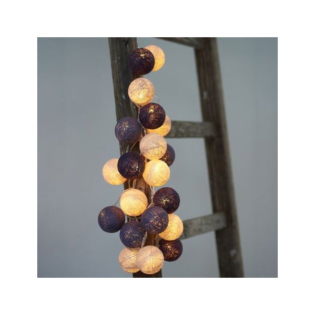 Sirius LED Lichterkette Bolet purple Velvet