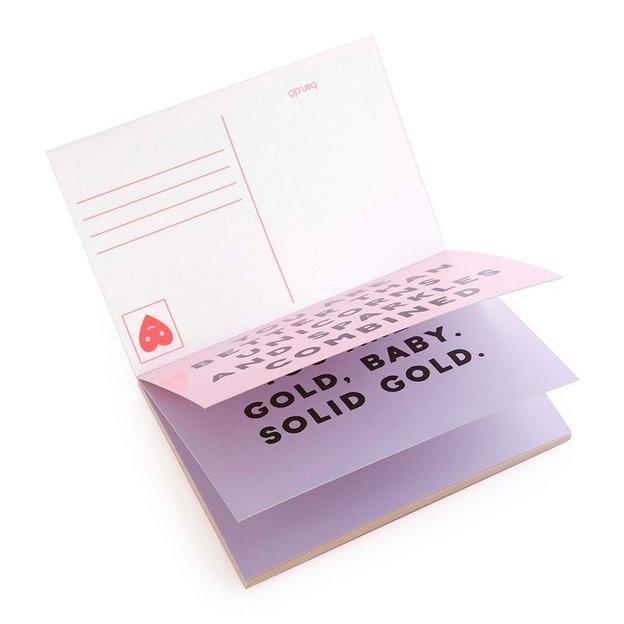 Livre de cartes postales Compliments