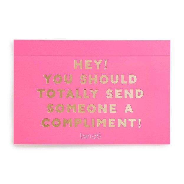 ban.do Postkarten Buch Compliments