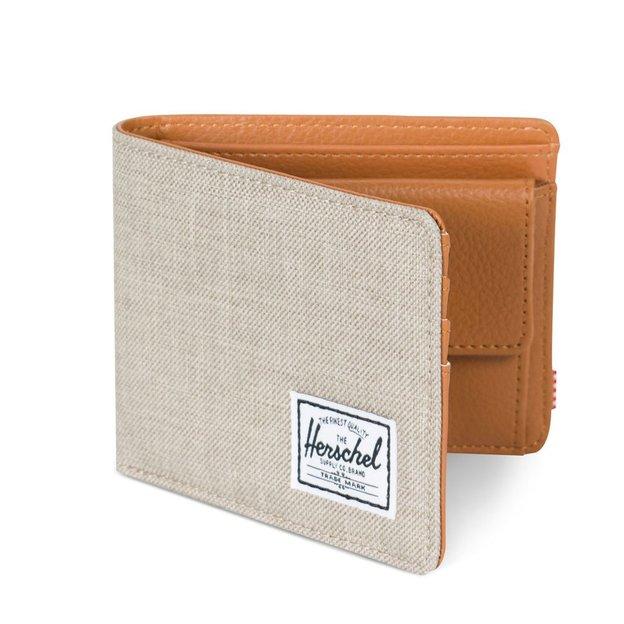 Herschel Portemonnaie Hank + Coin RFID Khaki