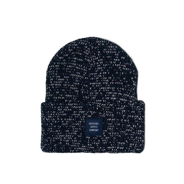Herschel Mütze Abbott Navyblau reflektierend