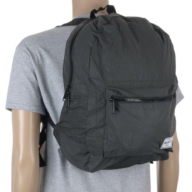 Herschel Rucksack Daypack Black Reflective