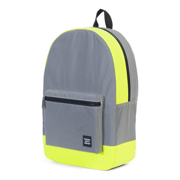 Herschel Rucksack Daypack Silver Reflective/Neon Yellow