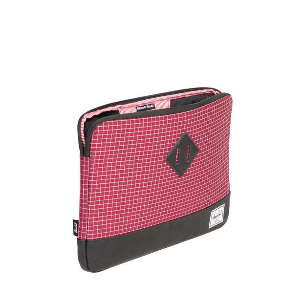 Herschel Notebook Tasche für MacBook Windsor Wine Grid