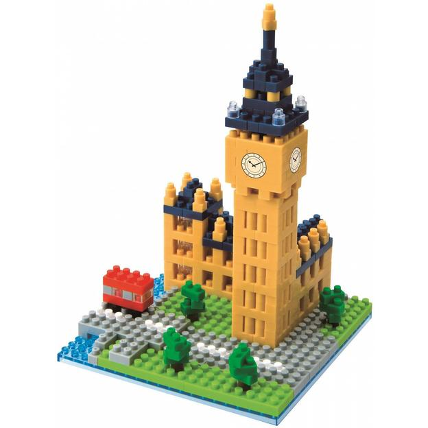 Nanoblock Sights Big Ben