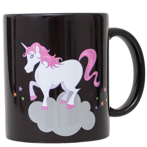Tasse licorne thermosensible I BELIEVE