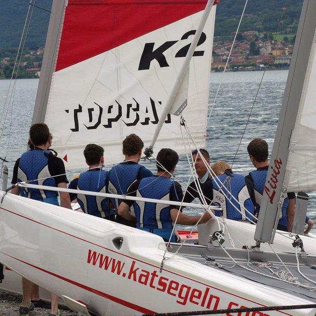 Initiation à la voile au lac de Côme