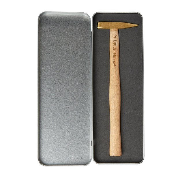 Personalisierbarer Hammer aus Messing