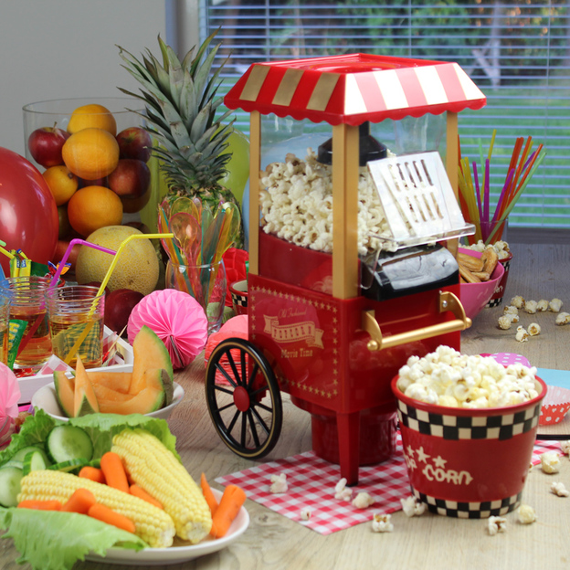 fashioned pop corn machine