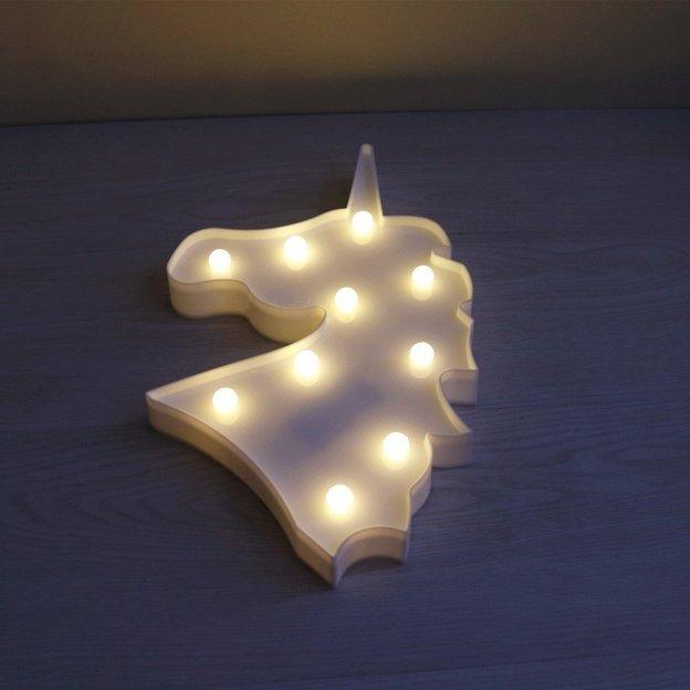 lampe licorne led. Black Bedroom Furniture Sets. Home Design Ideas