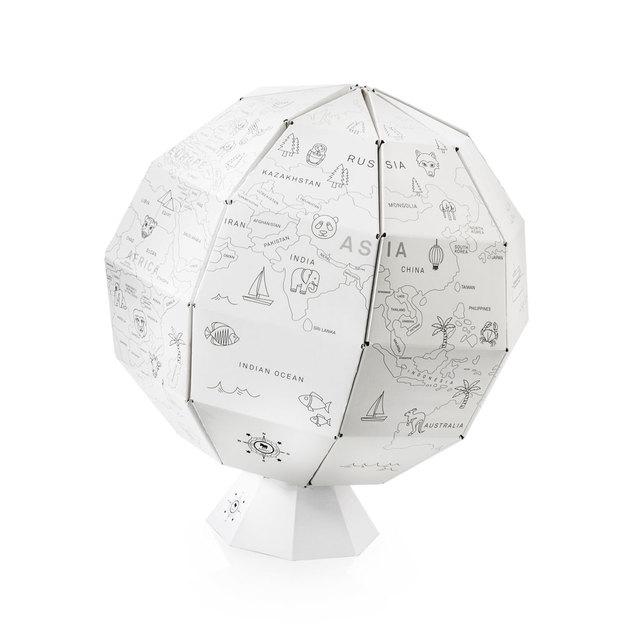 My First Globe Globus zum Ausmalen