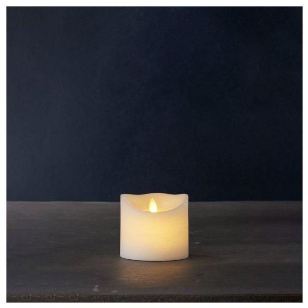Sirius LED-Kerze Sara Exclusive klein, Weiss