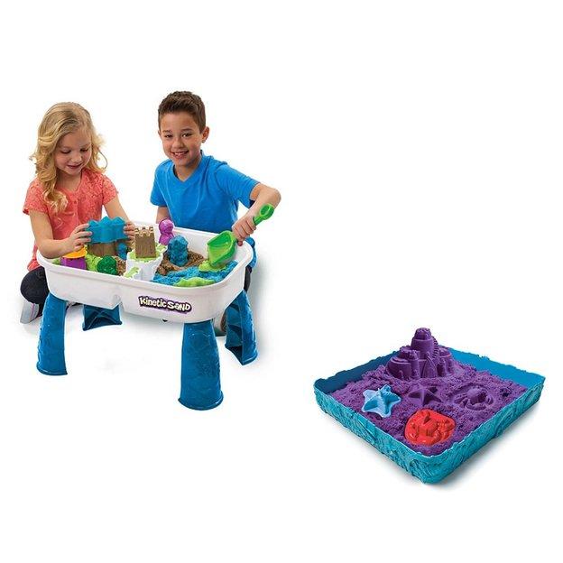 Spin Master - Kinetic Sandbox Set und Zubehör