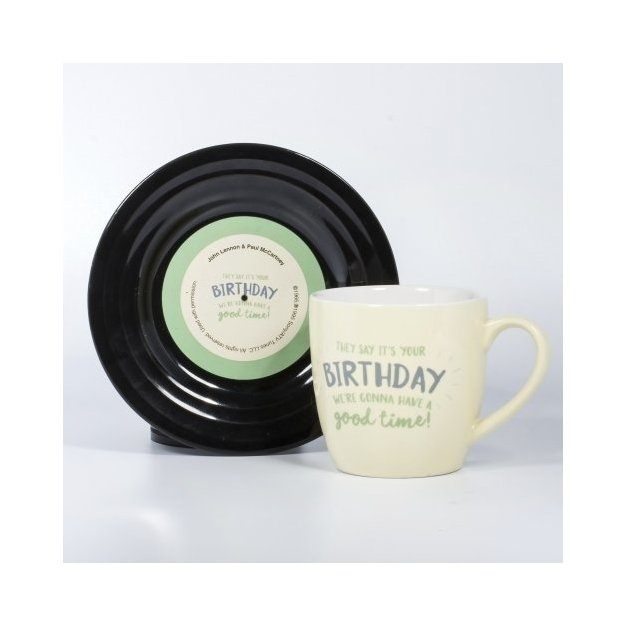 Tassen-Set Lyrical Mug - Birthday