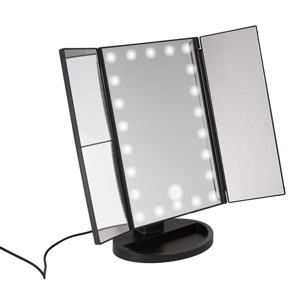 miroir de maquillage avec lampes led. Black Bedroom Furniture Sets. Home Design Ideas